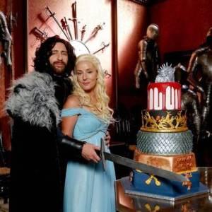 Kerry Ford, Darren Prew e il loro matrimonio in stile Trono di Spade