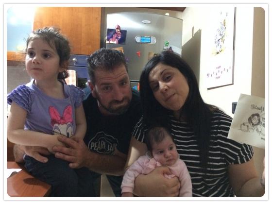 #30 Giuseppe, Rosanna, Martina e la piccola Sara