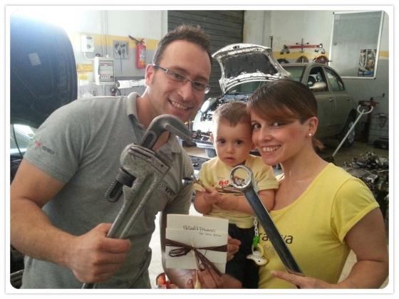 Vota Valerio, Maria e Riccardo